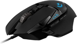 Logitech G502 HERO High-Performance Gaming-Maus
