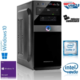 Memory PC Intel i7-9700 8X 3.0 GHz